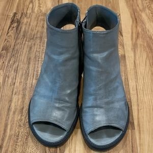 Forever 21 Gray Booties